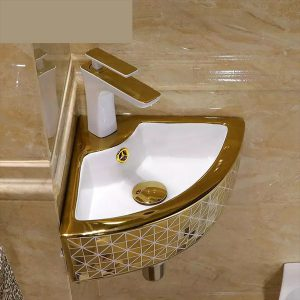 corner-sink-small-pedestal-gold-tap