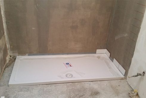 shower-tray- first-fix